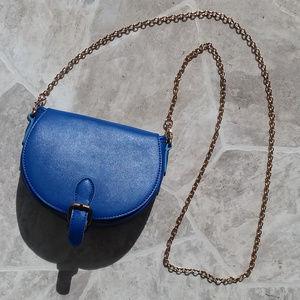 🔴STREET LEVEL blue crossbody bag